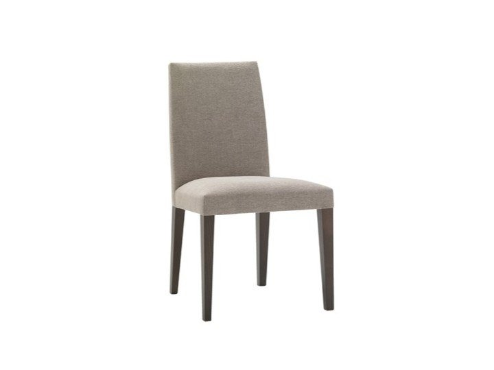 Upholstered fabric chair ANNA SI1368 by Andreu World