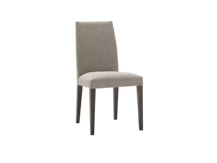 Upholstered fabric chair with removable cover ANNA SI1378 by Andreu World