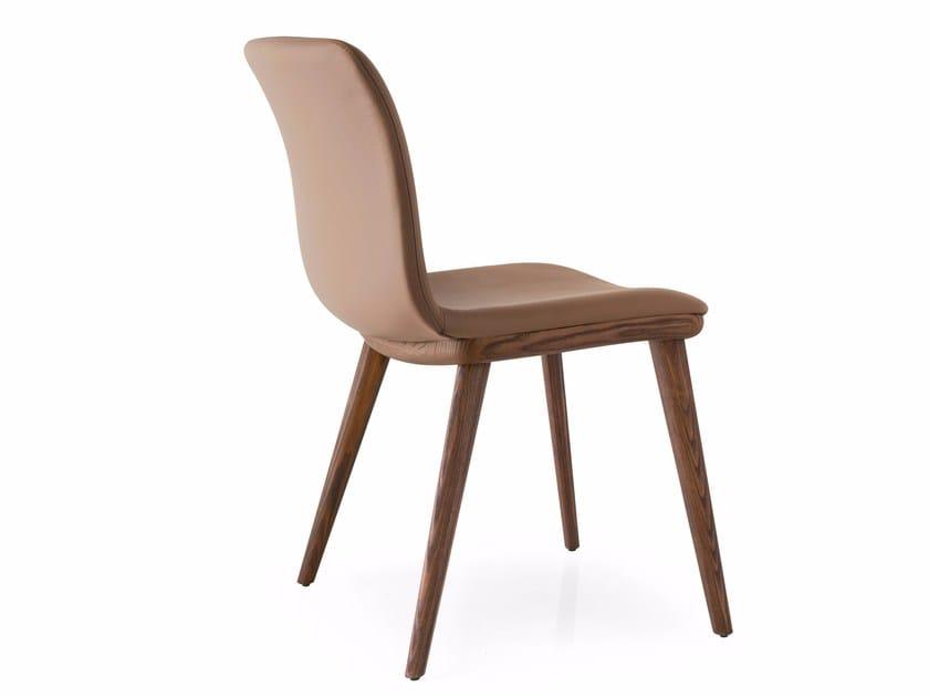 ANNIE | Sedia in pelle
