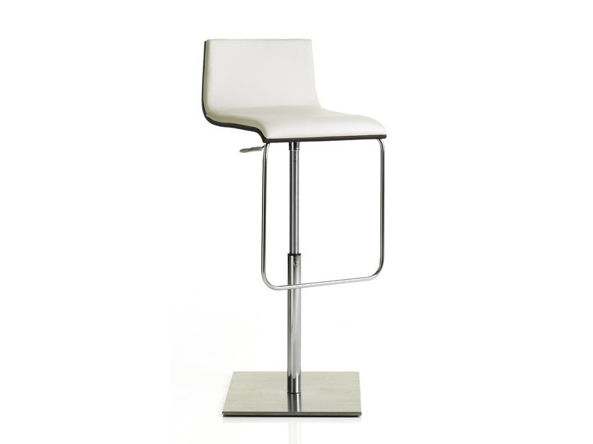 Height Adjustable Upholstered Stool ANOUK | Height Adjustable Stool By ALMA  DESIGN