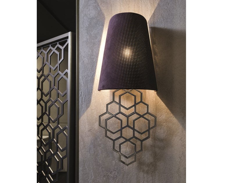 Direct-indirect light wall light ANOUK | Wall light by Longhi