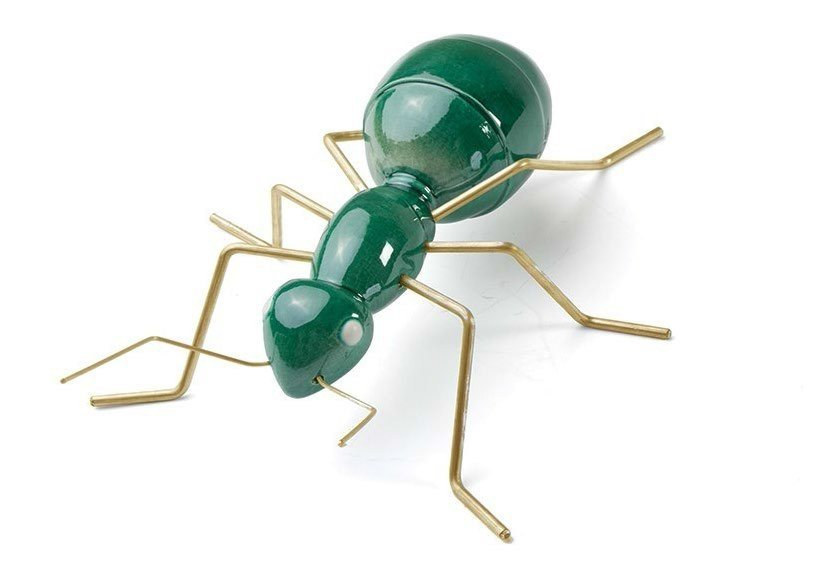 Contemporary style ceramic decorative object ANT MINT by Mambo Unlimited Ideas