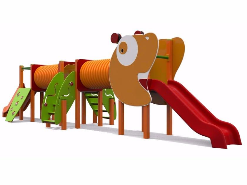 Polyethylene Play structure ANT-TONY by Stileurbano