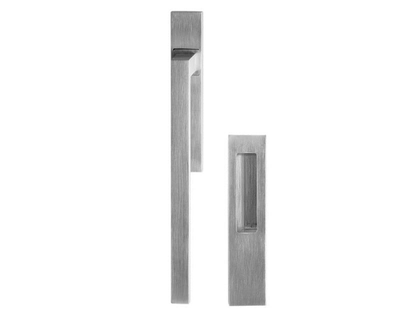 Brass pull handle for sliding windows ANTA RIBALTA I-DESIGN by Pasini