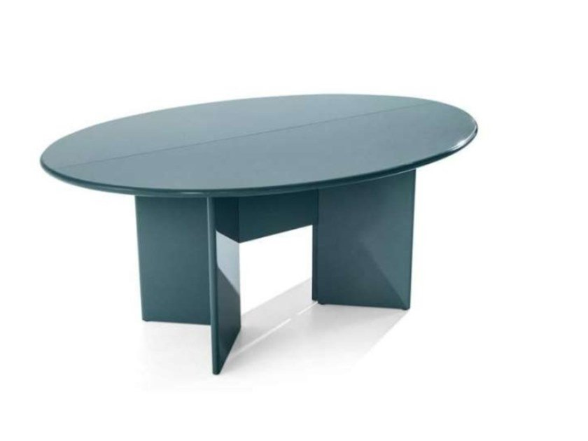 Oval MDF dining table ANTELLA by Cassina