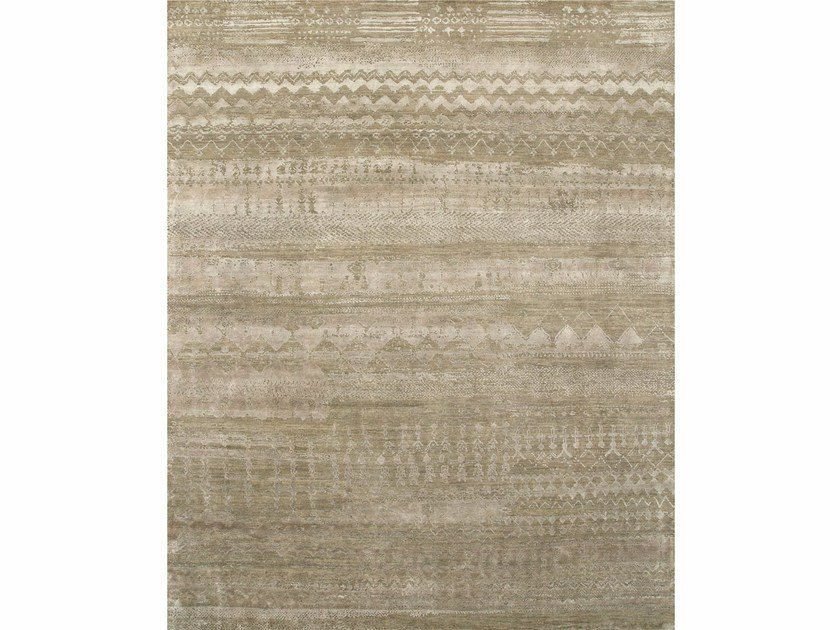 Patterned rug ANTHAR ESK-663 Dark Taupe/Fossil by Jaipur Rugs