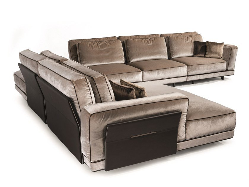 Sectional fabric sofa ANTHEM | Sectional sofa by Visionnaire