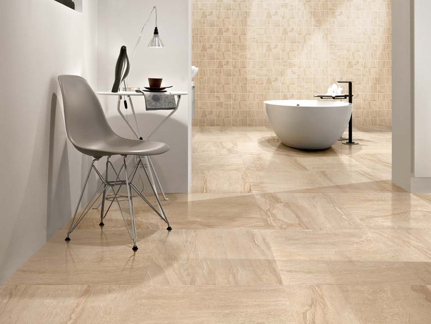 Porcelain stoneware wall/floor tiles with marble effect ANTHOLOGY MARBLE VELVET MARBLE by EmilCeramica by Emilgroup