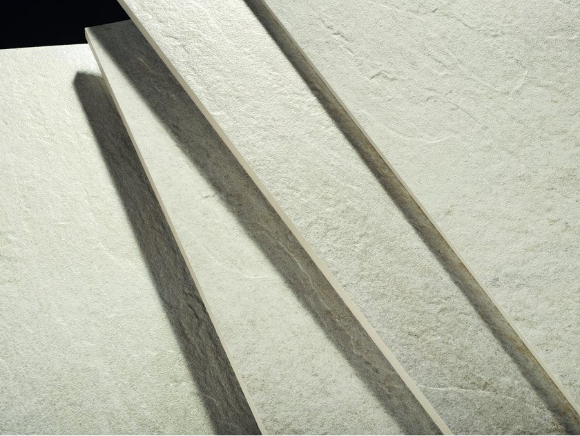 Porcelain stoneware wall/floor tiles with stone effect ANTHOLOGY STONE IVORY by EmilCeramica by Emilgroup