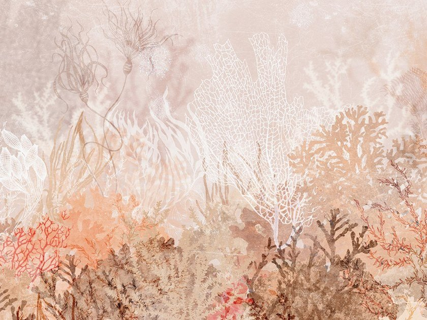 Ecological washable PVC free wallpaper ANTHOZOA by Wallpepper