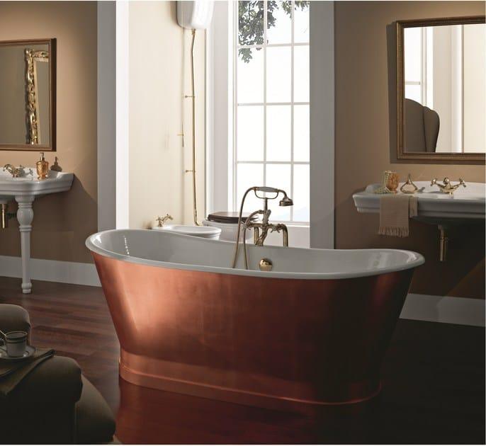 Freistehende Badewanne Aus Kupfer Antica Copper Kollektion Bathtubs