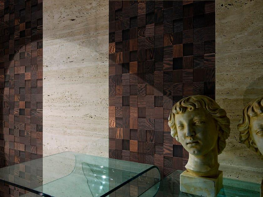 Mosaico con superficie tridimensionale in wengè ANTICO ASOLO MOSAICI   Mosaico con superficie tridimensionale in wengè by CP Parquet