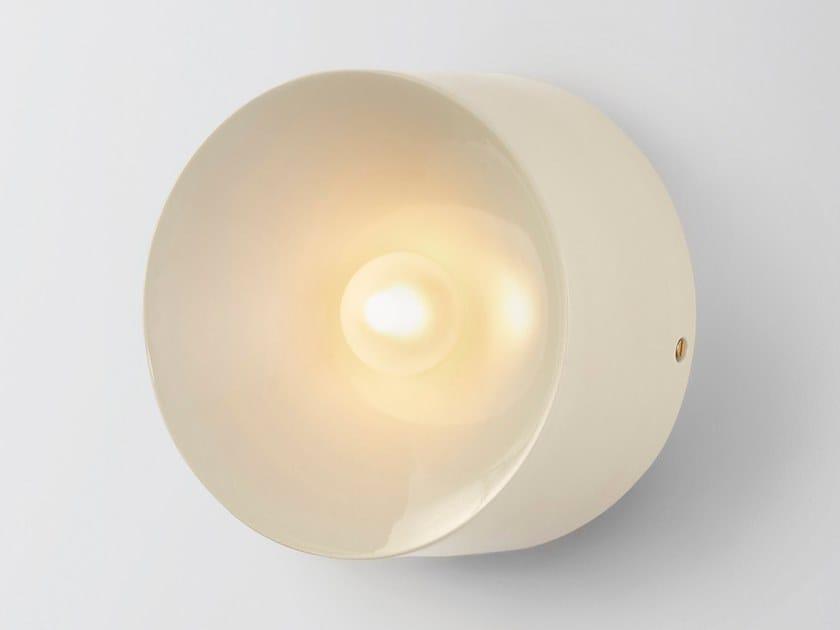Ceramic sconce ANTON CERAMIC WHITE by Volker Haug Studio