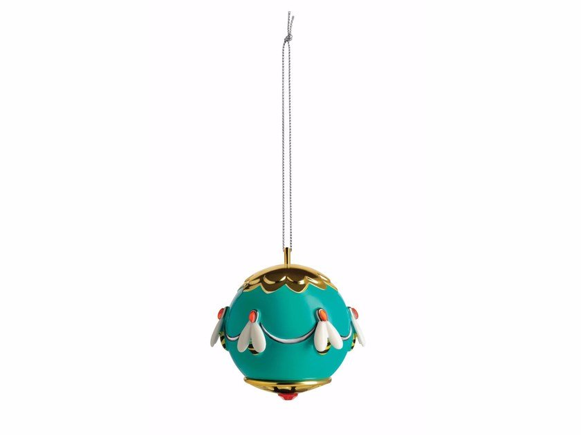 Porcelain Christmas ornaments APE DELL'ORO by Alessi