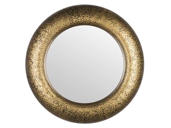 Round wall-mounted framed mirror APOLLON | Mirror by Hamilton Conte Paris