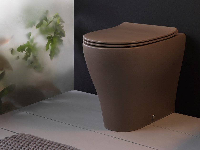 Floor mounted ceramic toilet APP | Floor mounted toilet by CERAMICA FLAMINIA