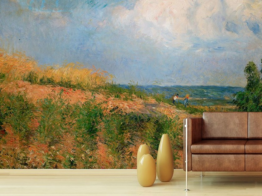 Landscape wallpaper APPROSSIMARSI DELLA BUFERA by Wallpepper