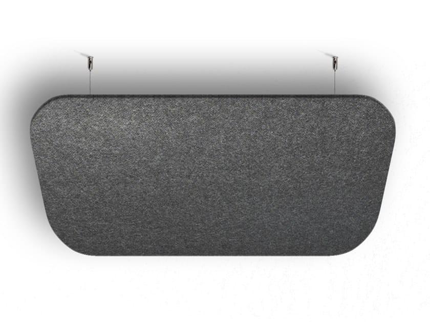 Pannello acustico a parete in lana di pecora WHISPERWOOL APPS   Pannello acustico a parete in lana by Tante Lotte
