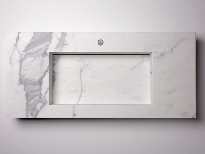 Single porcelain stoneware washbasin AQUA MAXIMUM | Single washbasin by GranitiFiandre