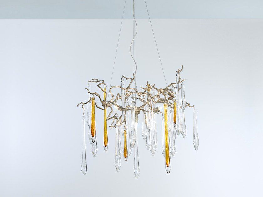 Halogen pendant lamp AQUA | Pendant lamp by Serip