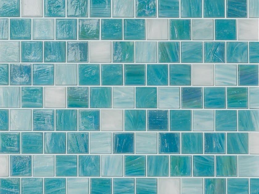 Glass mosaic AQUABLUE by Elements Mosaic