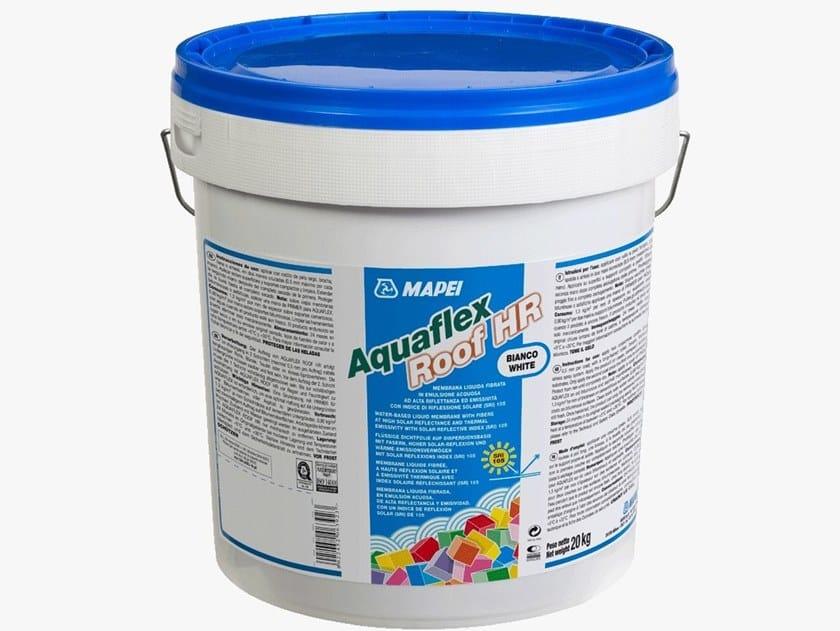 Liquid waterproofing membrane AQUAFLEX ROOF HR by MAPEI