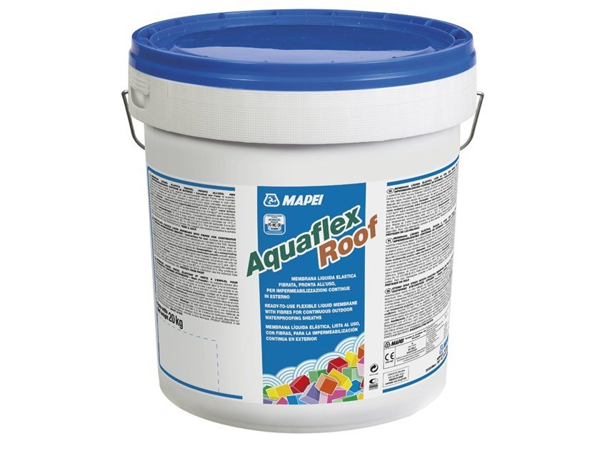 Liquid waterproofing membrane AQUAFLEX ROOF by MAPEI