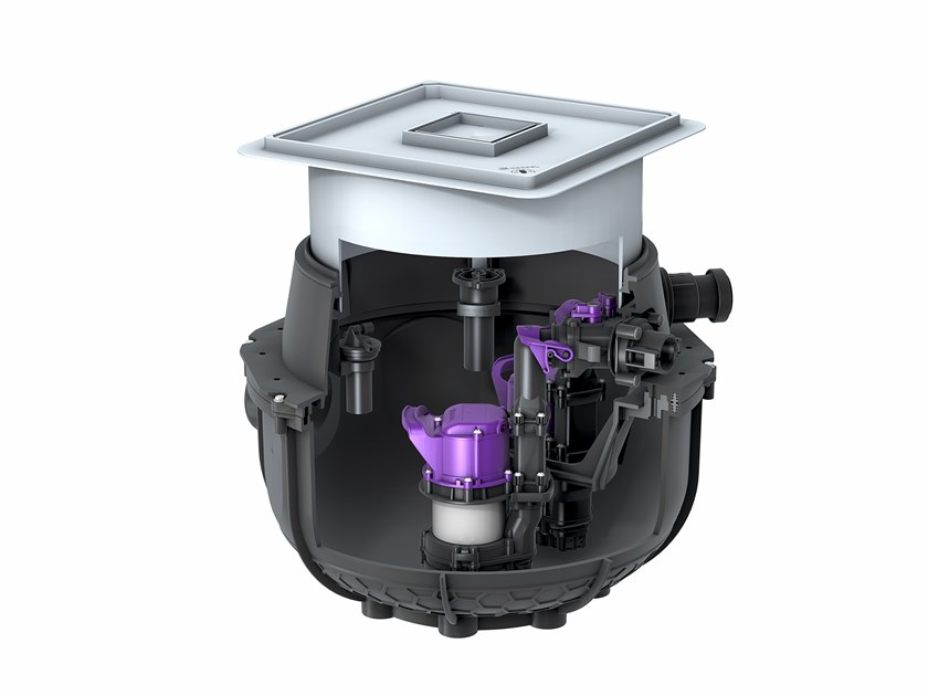 Grey water unit AQUALIFT S COMPACT by Kessel