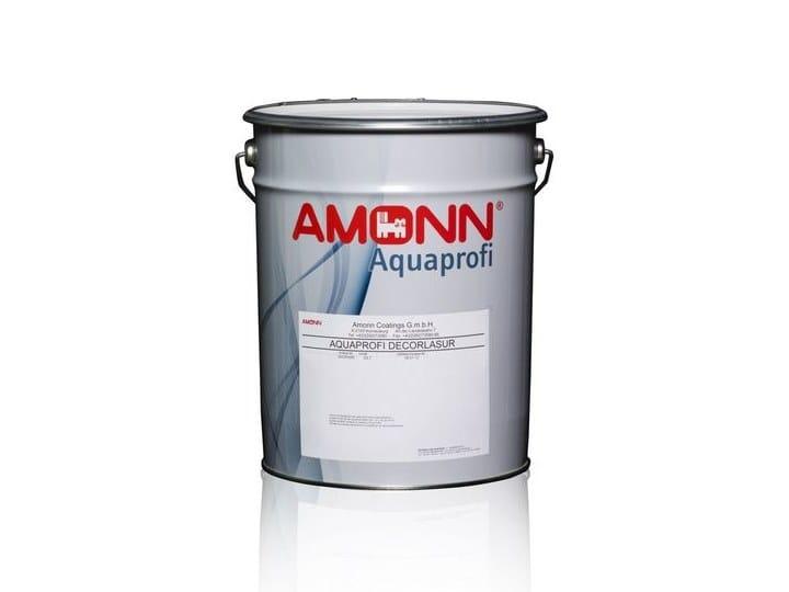 Wood protection product AQUAPROFI DECORLASUR by J.F. AMONN