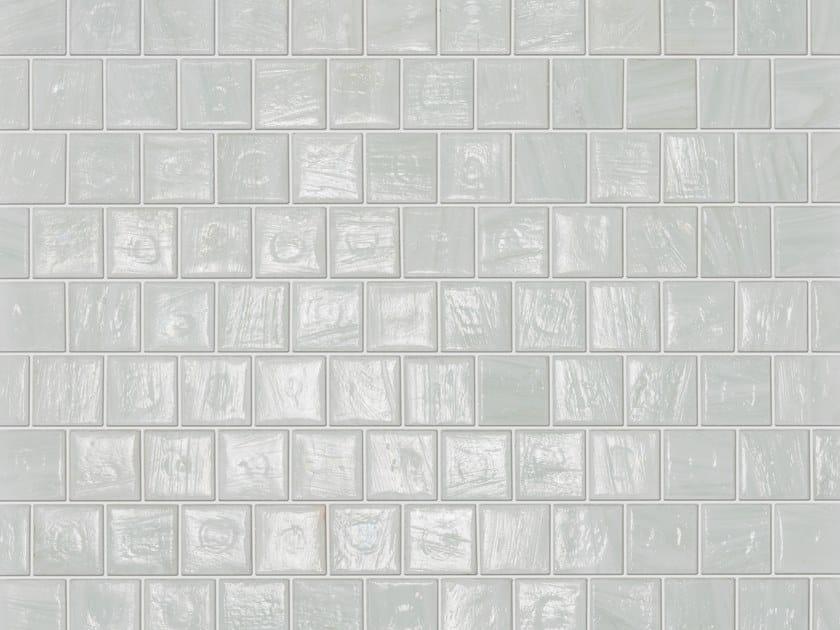 Glass mosaic AQUAWHITE by Elements Mosaic