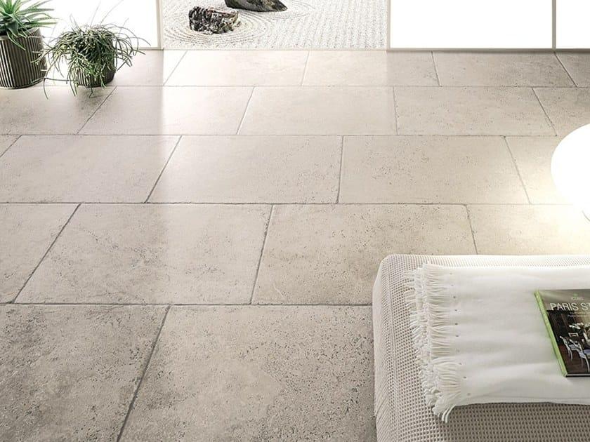 Pavimento effetto pietra per interni ed esterni aquitaine