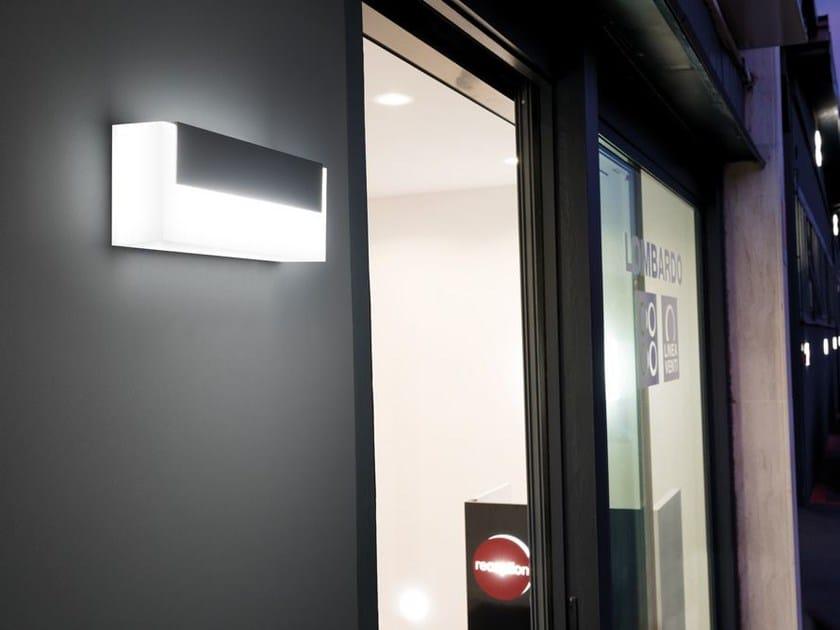 Plafoniera Da Esterno Lombardo : Lampada da parete a led art top lombardo