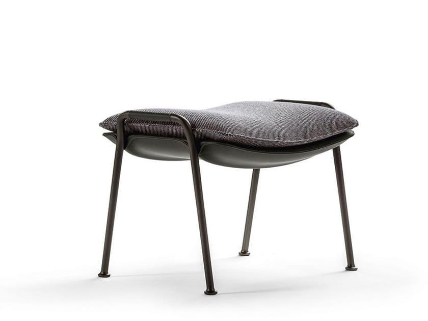 Fabric footstool ARABESQUE | Footstool by Poltrona Frau