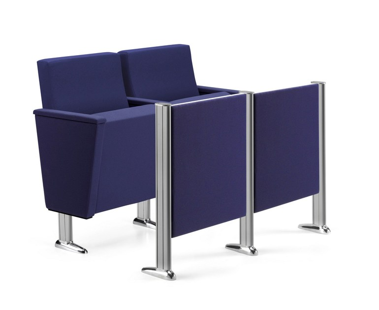 Fabric auditorium seats ARAN 583 by TALIN