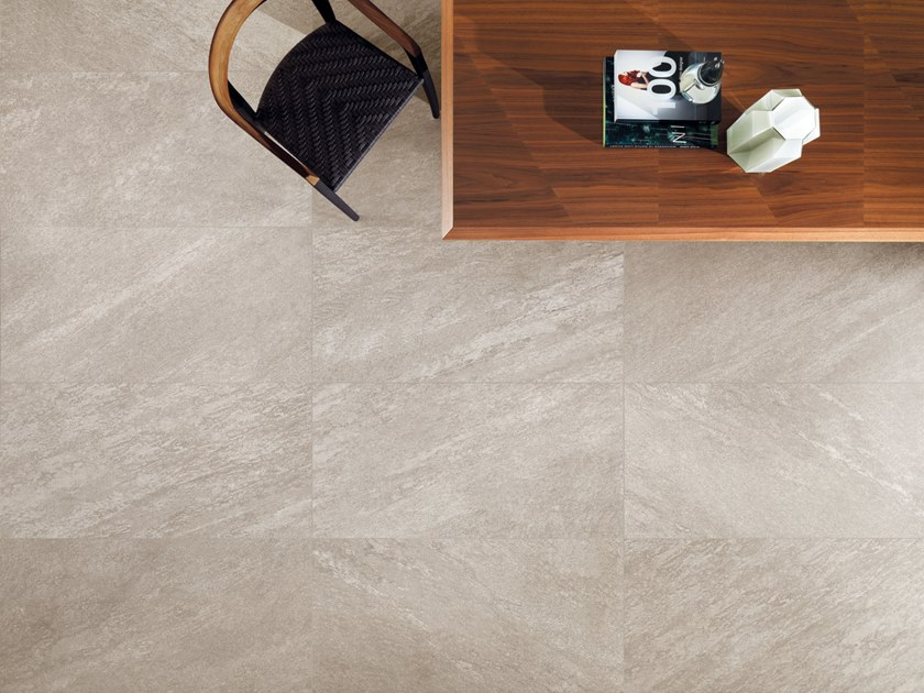 Porcelain stoneware wall/floor tiles ARAN WALNUT by CERAMICHE KEOPE