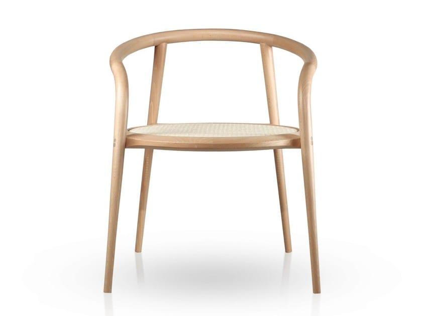 Beech chair with armrests ARANHA | Beech chair by Branca Lisboa