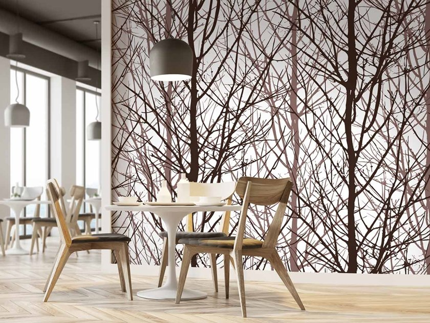 Digital printing landscape wallpaper ARBOR by LGD01