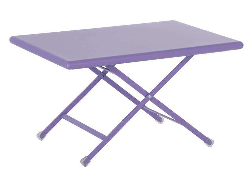 Tavolino basso pieghevole ARC EN CIEL by emu