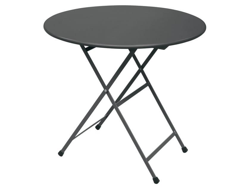 Folding round table ARC EN CIEL by emu