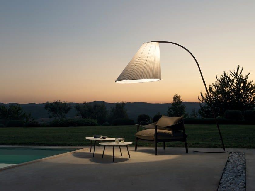 Lampada ad arco per esterno in acciaio cone lampada ad arco per