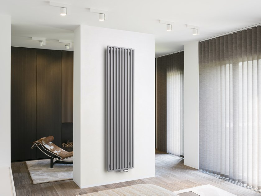 Wall-mounted steel decorative radiator ARCHE VERTICAL by VASCO