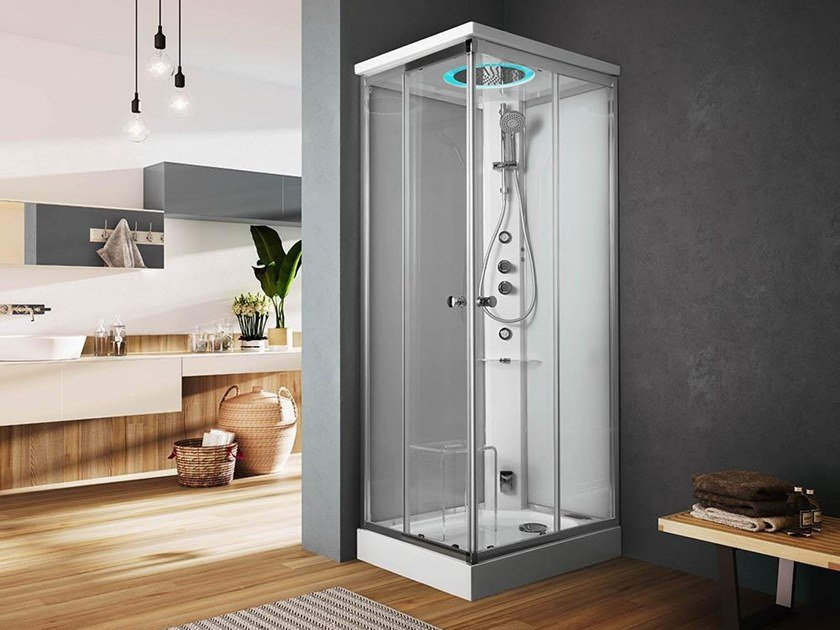 Multifunction shower cabin ARCHIMEDE | Shower cabin by Glass1989