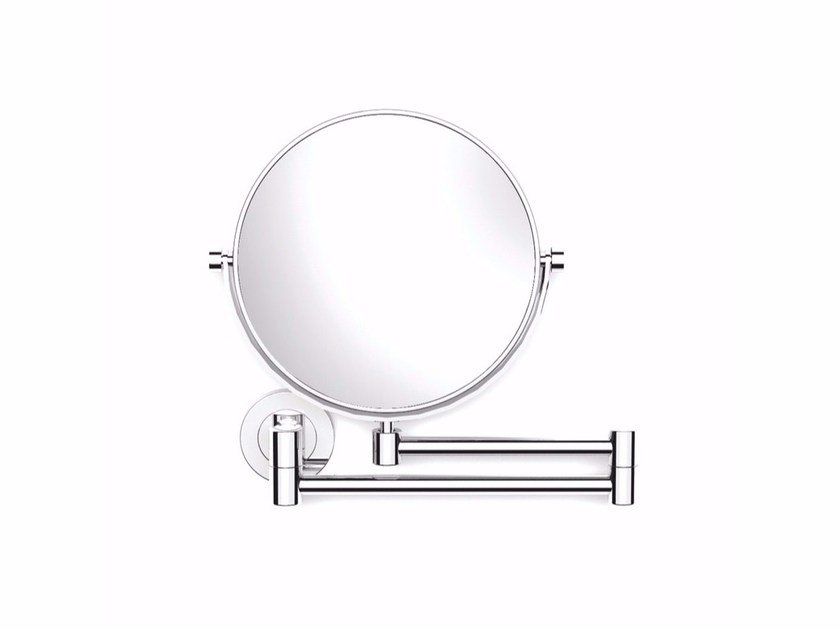 Double-sided round wall-mounted shaving mirror ARCHITECT 2050184   Shaving mirror by Cosmic
