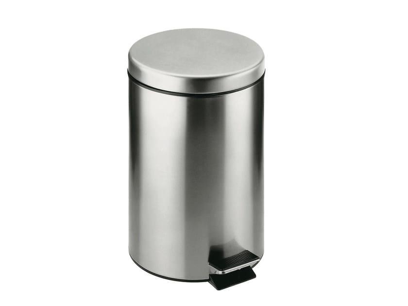 Stainless steel Public bathroom waste bin ARCHITECT 2900703 | Public bathroom waste bin by Cosmic