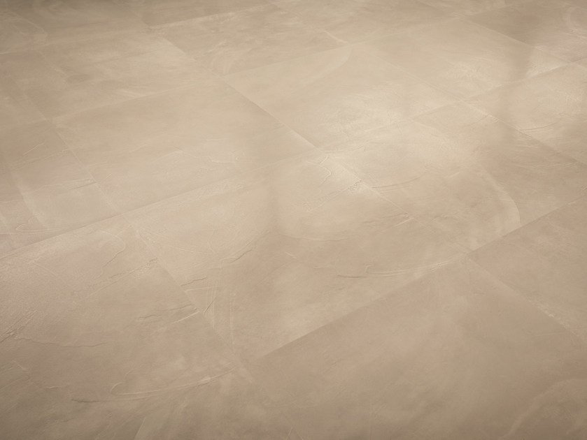 Porcelain stoneware wall/floor tiles with concrete effect ARCHITECT RESIN NEW YORK SAND by Ergon by Emilgroup