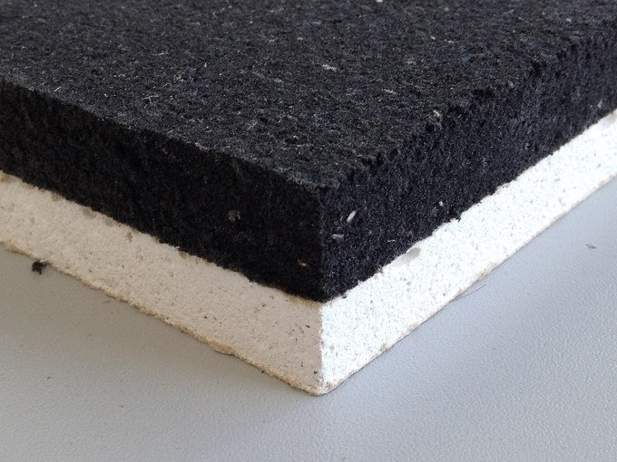 Eco-compatible soundproofing / sound-absorbing felt ARCO GIPS by ArcoAcustica