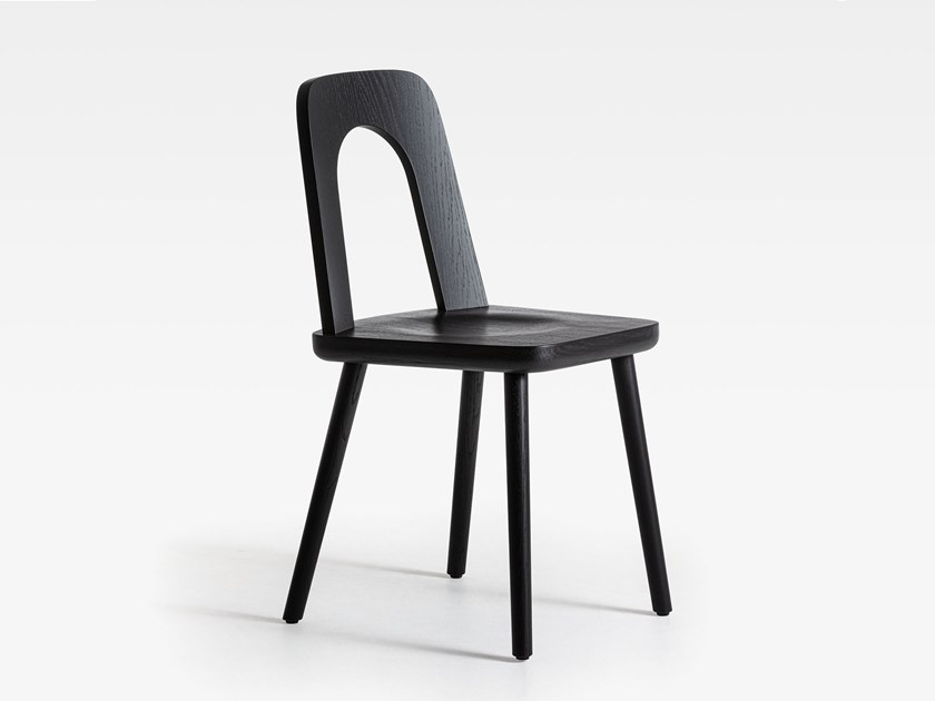 Lacquered oak chair ARCO | Lacquered chair by SIPA