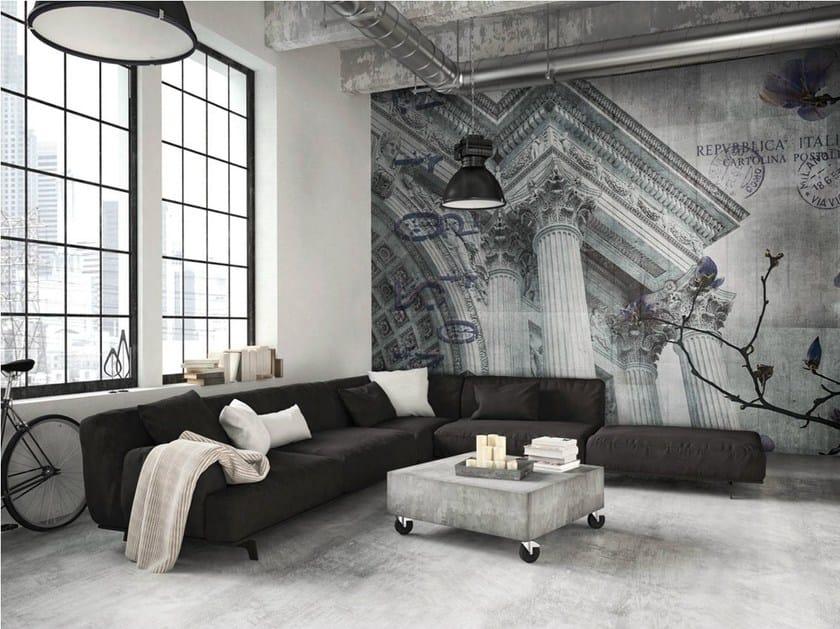 Vinyl or fyber glass wallpaper ARCO by N.O.W. Edizioni