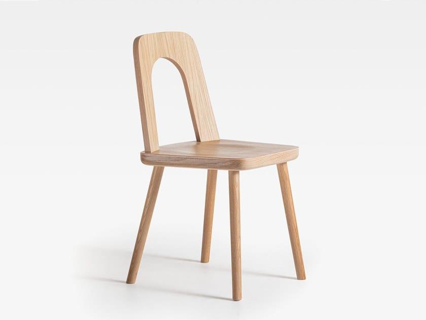 Sedia in rovere ARCO | Sedia in legno by SIPA