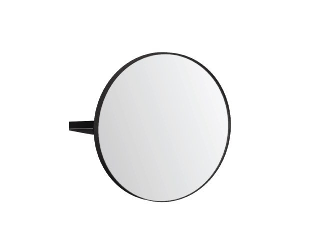 Round wall-mounted mirror with shelf ARCO S | Mirror by Ex.t